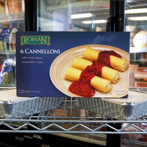 Cannelloni - Ricotta Cheese and Mozzarella and Sauce - Six pack
