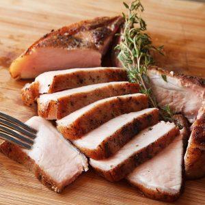 Loin End Bone In Chops - Pork