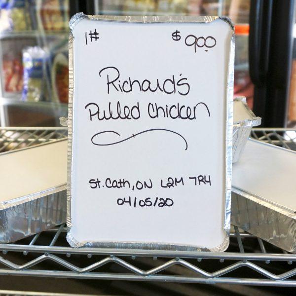 Pulled Chicken - One Pound - 1 Ib