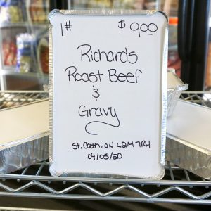 Roast Beef and Gravy - One Pound - 1 Ib