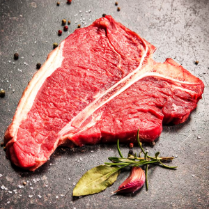 T Bone Steak - Raw - Richard's Fine Meats - 260 Lakeshore Road - St Catharines - ON - 289-362-1792