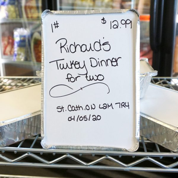 Turkey Dinner for Two
