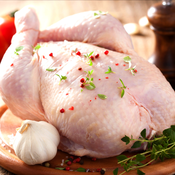 Whole Roasting Chickens - Raw - Richard's Fine Meats - 260 Lakeshore Road - St Catharines - ON - 289-362-1792